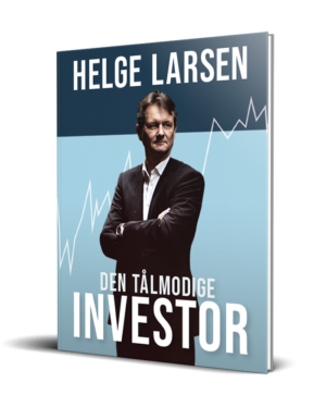 Bogen Den Tålmodige Investor af Helge Larsen - bog om investering